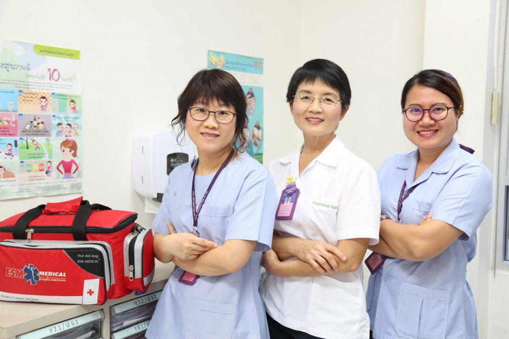 Amnuay Silpa School Nurse Centre