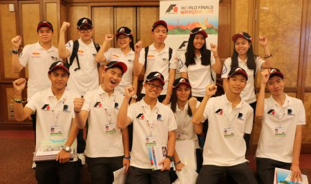 ANS Teams flying the flag for Thailand at the F1 in Schools final in KL