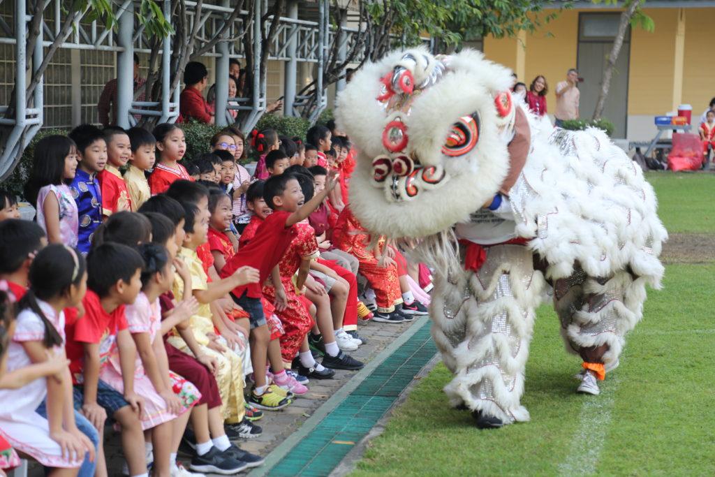 Amnuay Silpa School Chinese New Year 2018