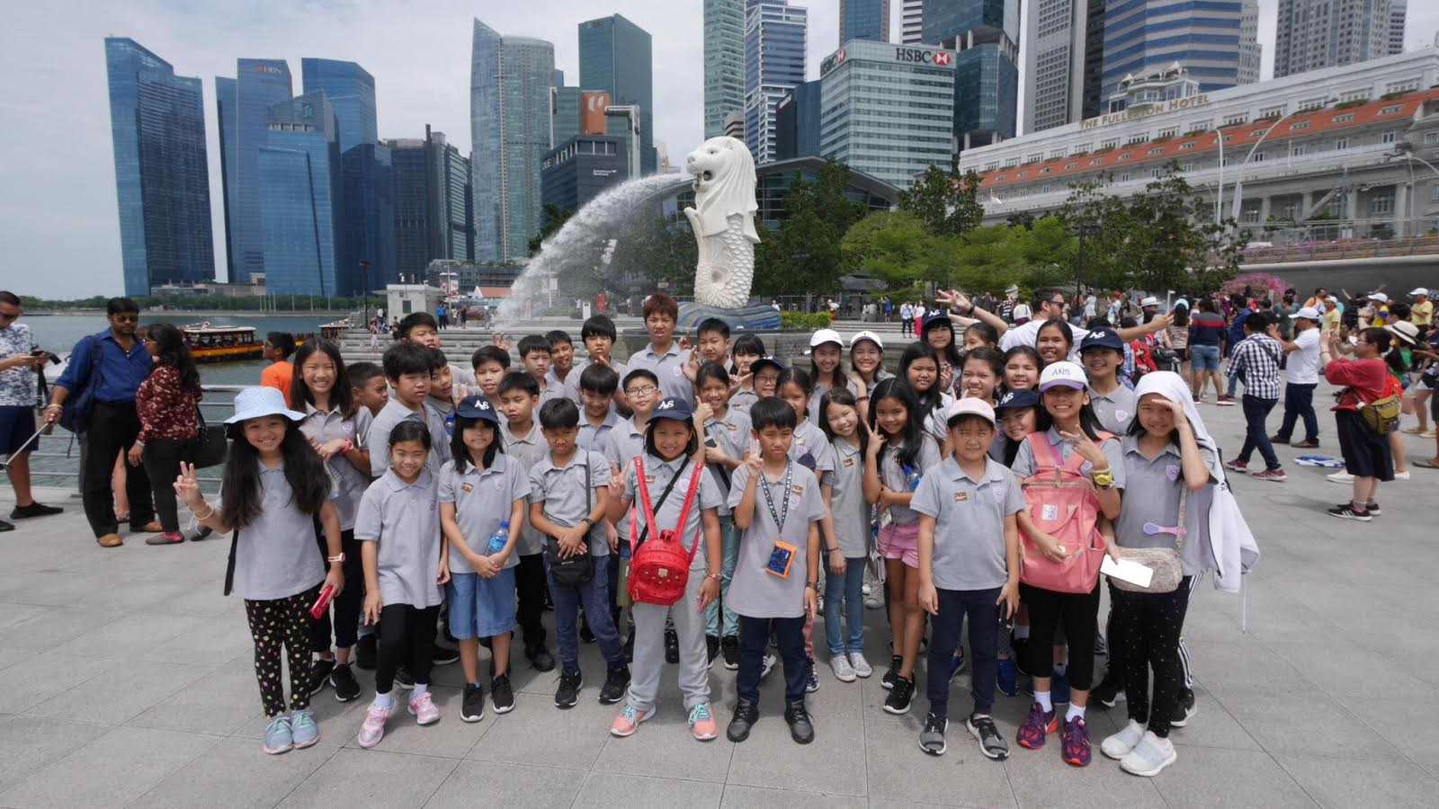 Ans Orchestra Trip To Singapore July 2018 Amnuay Silpa School