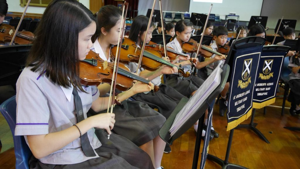 Amnuay Silpa School Orchestra Trip to Singapore - July 2018