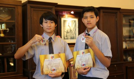 ANS students received Award in International Talent Math Contest (ITMC)