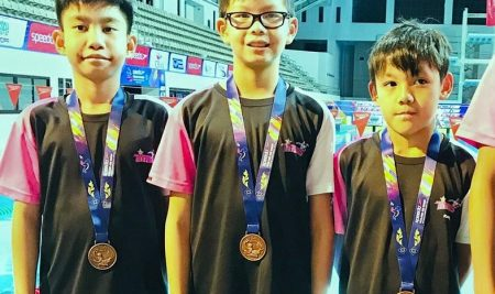 ANS students received Medals for the Speedo Thailand Age Group Swimming Championships 2019