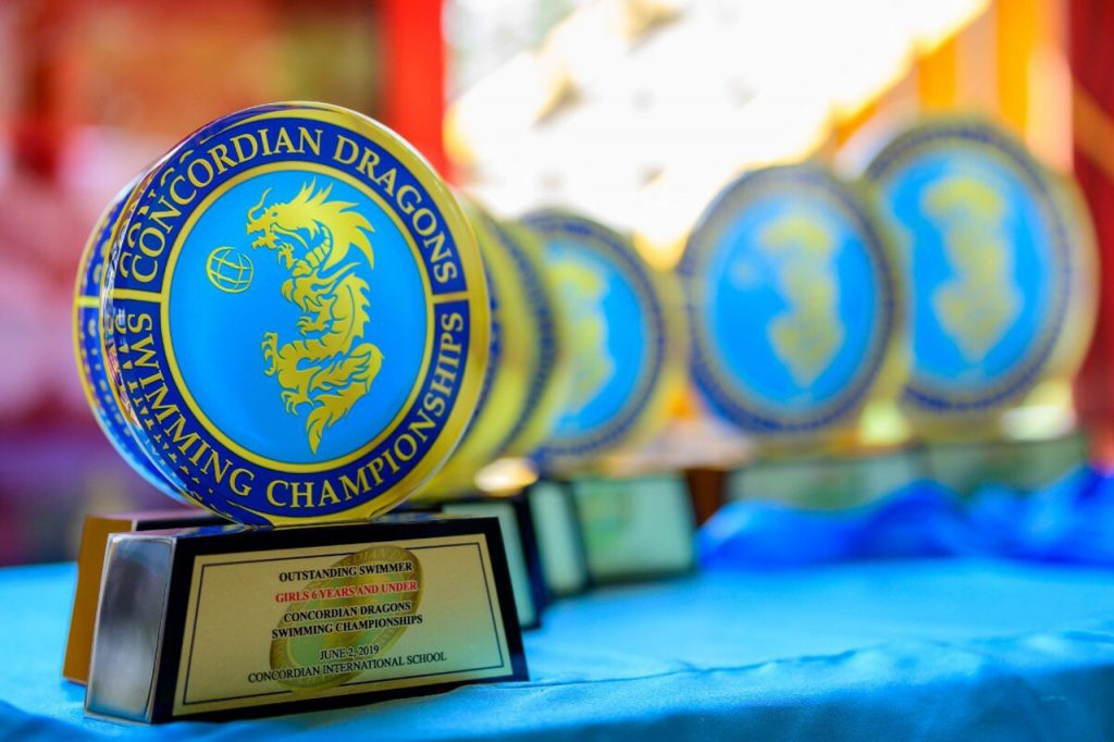The Concordian Dragon Swimming Champion 2019