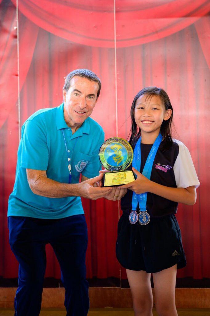The Concordian Dragon Swimming Champion 2019