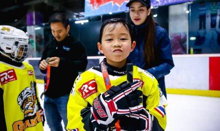 """การแข่งขันฮอกกี้น้ำแข็งเยาวชน รายการ """"Tropical Freeze tournament 2019"""""""