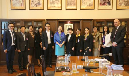 Welcomed the Management team Faculty of Education, Khon Kaen University