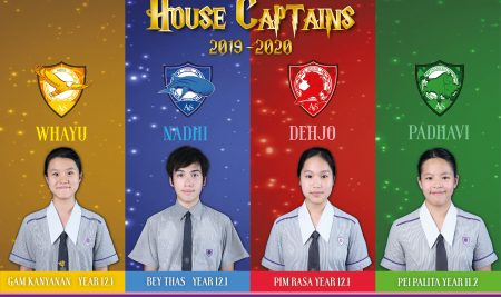 Newly elected 2019/20 House Captains