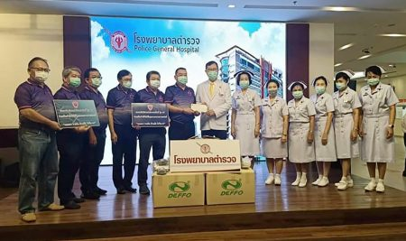ANS Alumni Club-47 (Lo Thong-VIP) generously donated to Police General Hospital