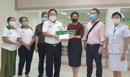 An ANS Alumni generously donated 2,003,600 baht to Ban Bueng Hospital.
