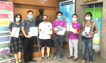 ANS Alumni-53 (Sky Lab) Club, generously donated to Trat Hospital.