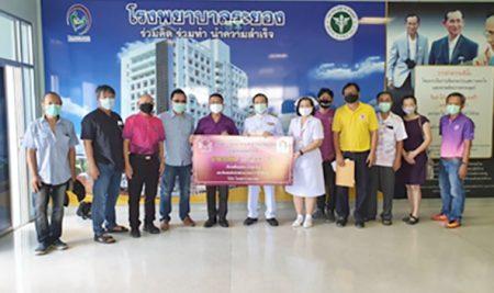 Rayong ANS Alumni Club generously donate 250,000 baht to the Rayong Hospital
