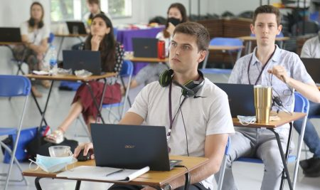 Our school has organised online teaching techniques training for overseas teachers.