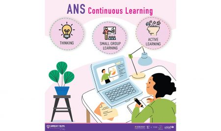 Students at ANS have continued on their educational journey this year as classroom based learning has seamlessly transitioned online.